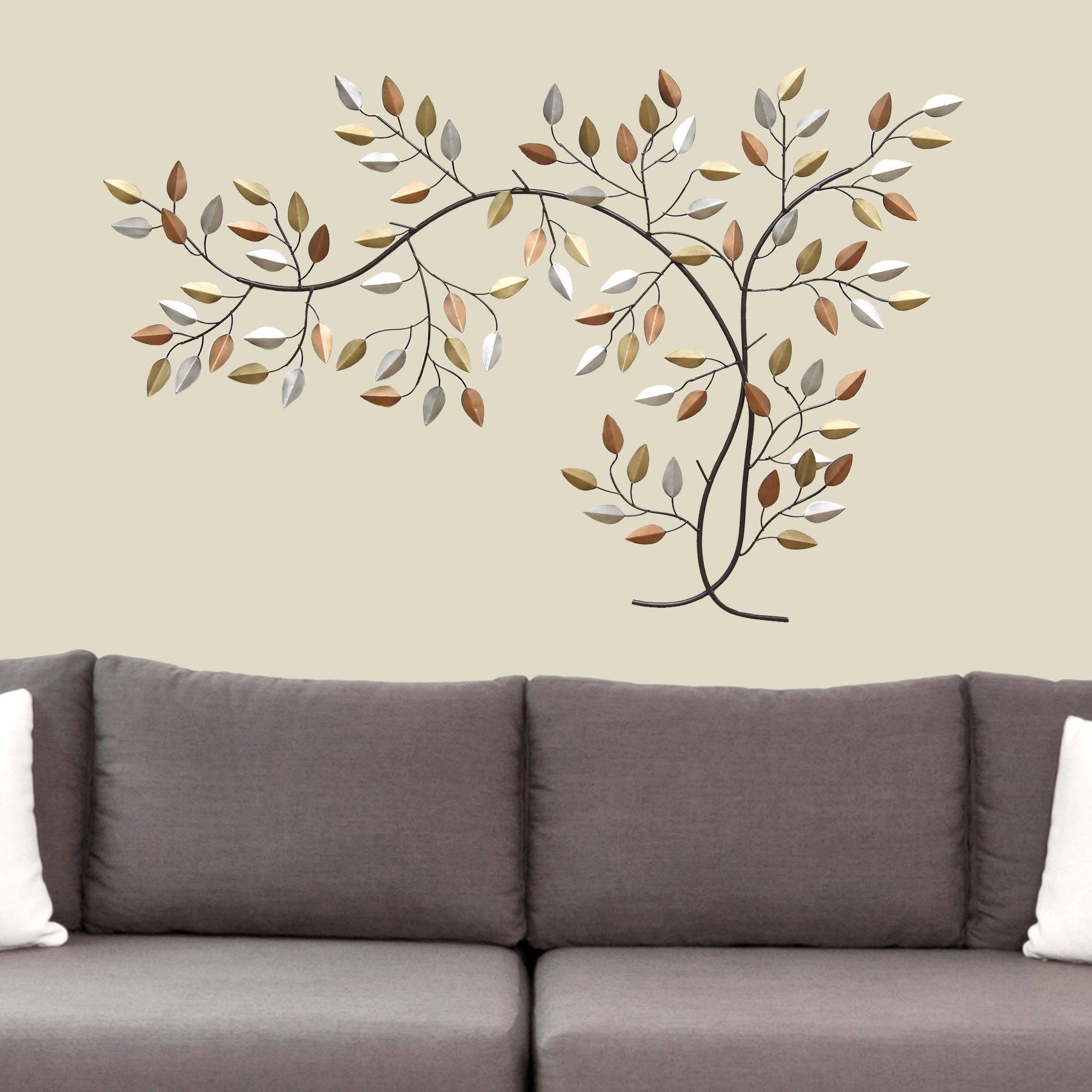 Leaf Branch Metal Wall Art In 2018 Tree Branch Wall Art (View 8 of 20)