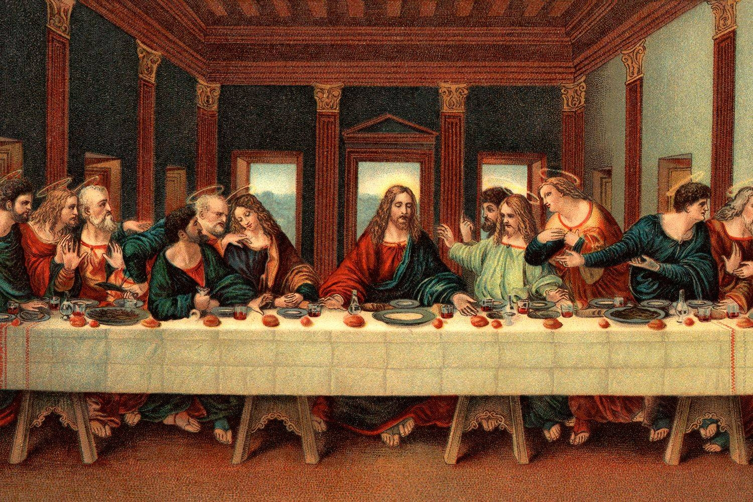 Learn About 'the Last Supper'leonardo Da Vinci Regarding 2018 The Last Supper Wall Art (View 9 of 20)