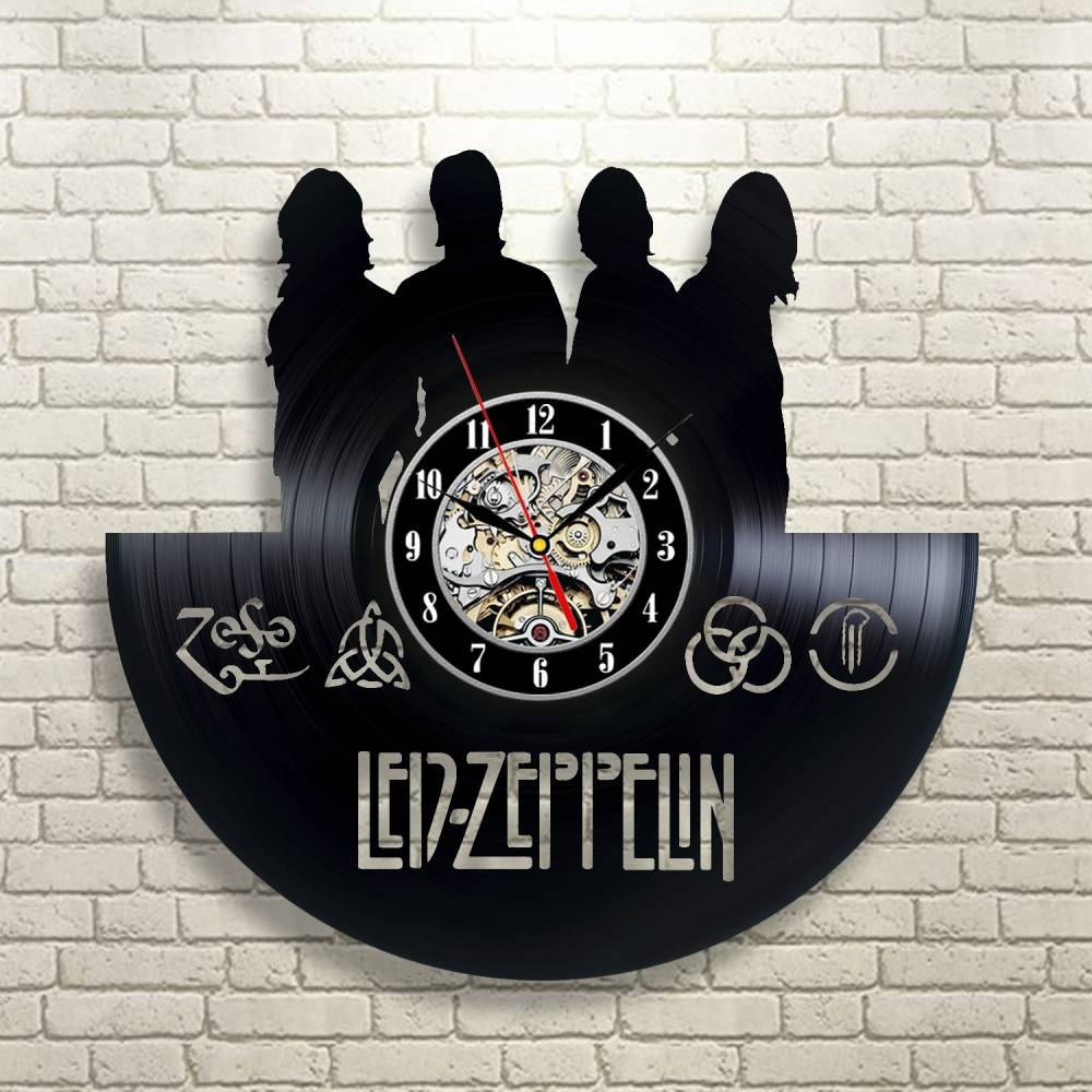Featured Photo of Led Zeppelin 3D Wall Art
