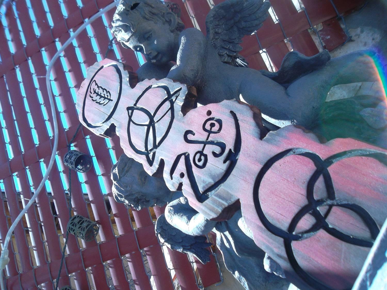 Led Zeppelin Wallart Zeppelin Symbols Zoso Jimmy Page Throughout Newest Led Zeppelin 3d Wall Art (View 2 of 20)