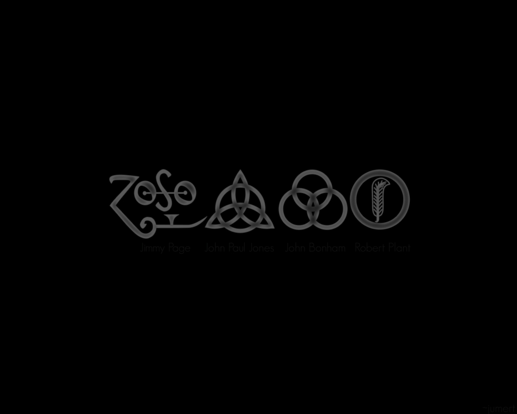 Ledzeppelin Symbols Wallpaperjumert On Deviantart Inside Most Recent Led Zeppelin 3d Wall Art (View 17 of 20)