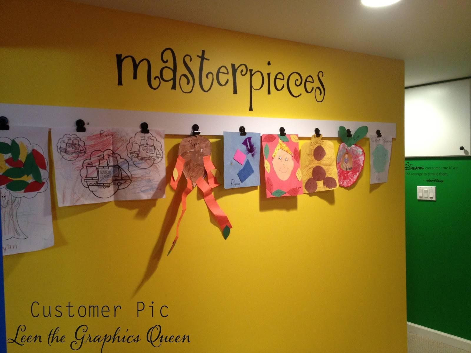 Leen The Graphics Queen inside 2018 Preschool Wall Art