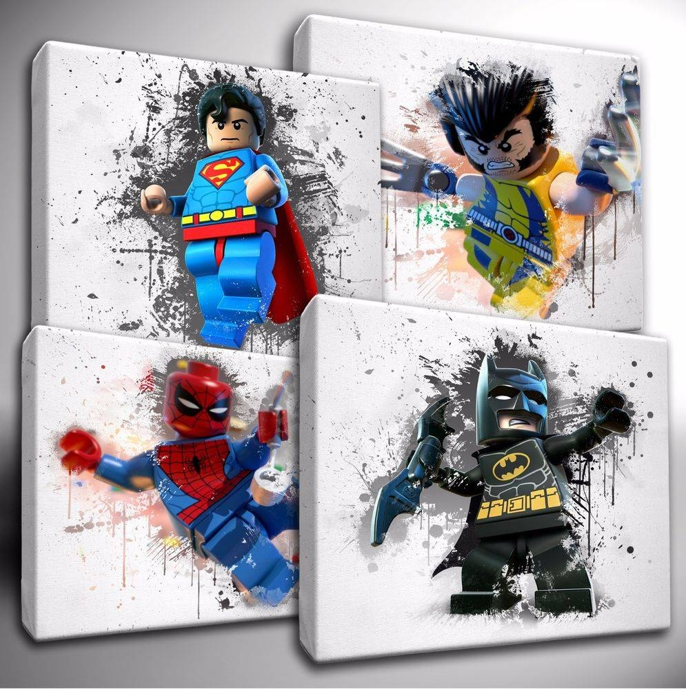 Lego Canvas | Ebay Intended For Most Up To Date Lego Star Wars Wall Art (View 20 of 20)
