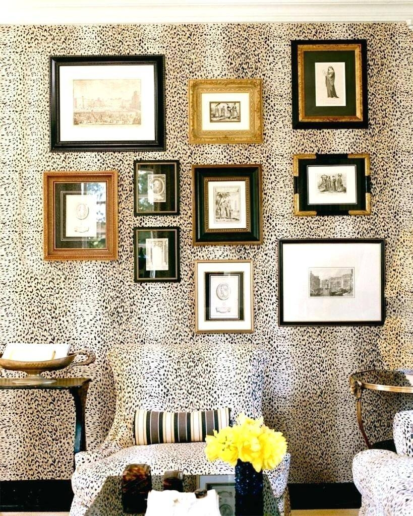 Leopard Print Decals For Walls – Gutesleben For Most Up To Date Leopard Print Wall Art (View 7 of 25)