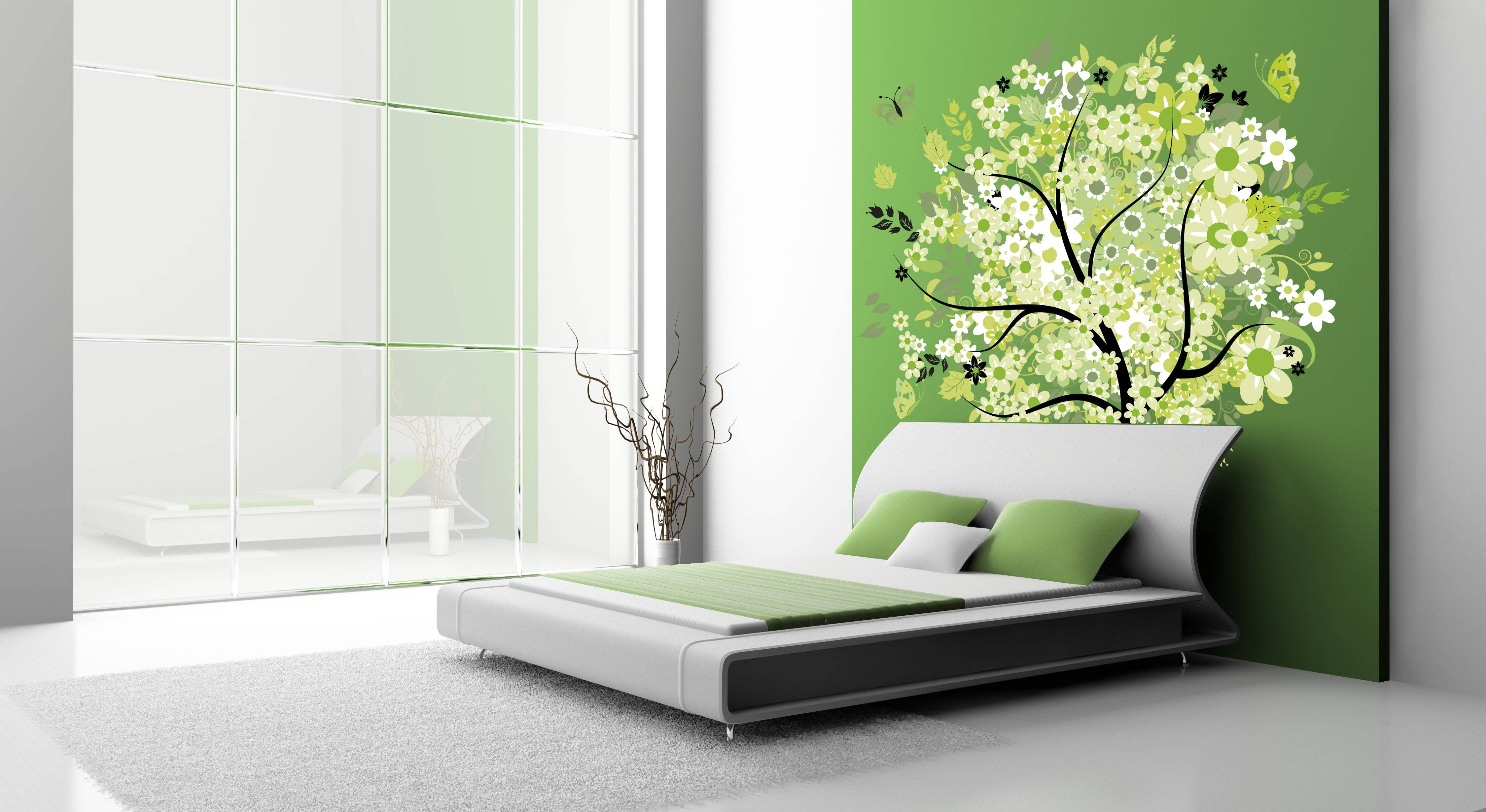 Lime Green Wall Murals • Wall Design With Regard To Current Lime Green Wall Art (View 14 of 20)