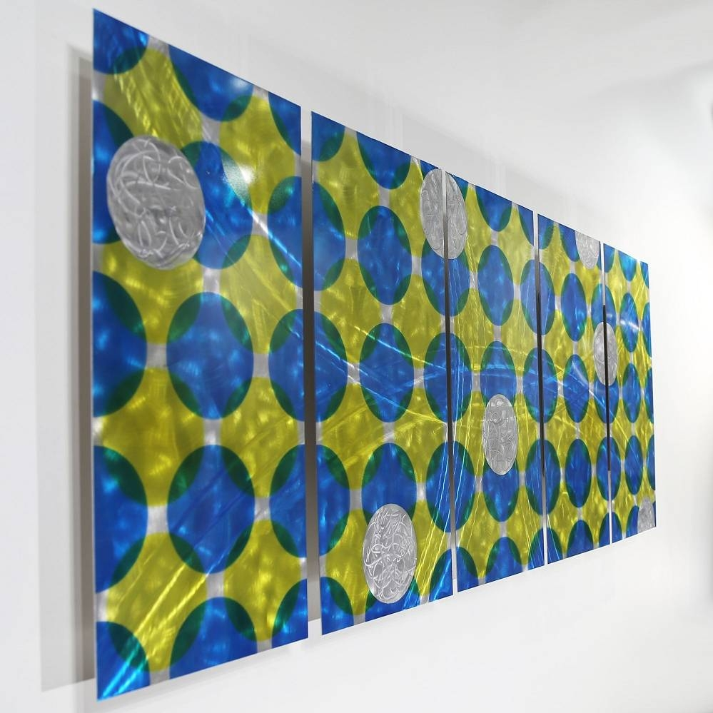 Limited Edition Artwork   One Of A Kind Original Artjon Allen For 2018 Blue And Green Wall Art (View 14 of 20)