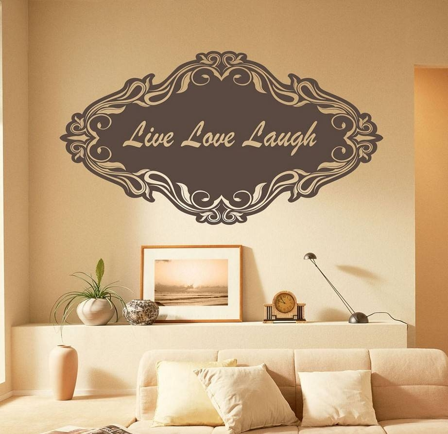 Live Laugh Love Wall Décor Inspirations U2013 Homestylediary For Best And  Newest Live Laugh Love Wall