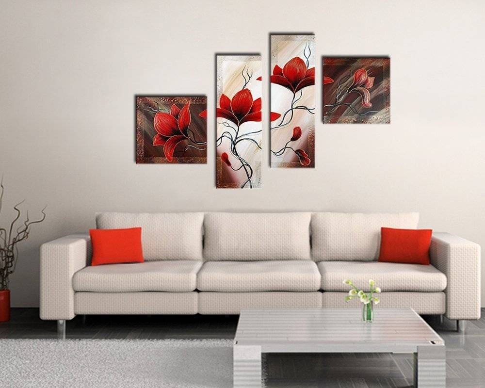 Living Room: 3 Piece Canvas Art Oversized Wall Art Cheap Framed Pertaining To Most Recently Released 3 Piece Wall Art (View 20 of 30)