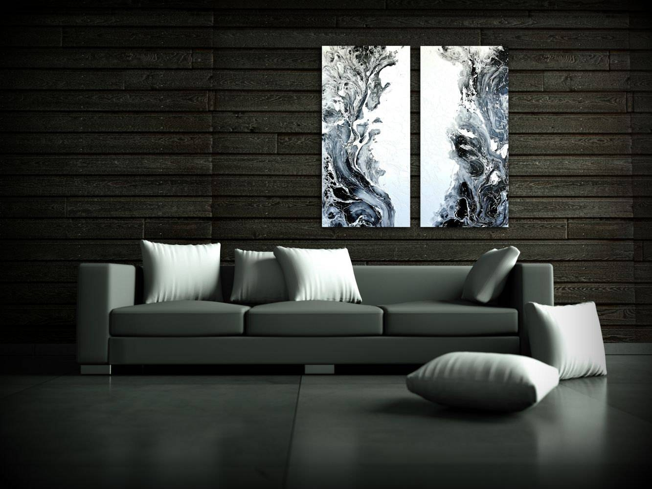 Living Room Painting Art Paintings Acrylic Paintings Xl / Extra With 2017 48X48 Canvas Wall Art (View 15 of 20)