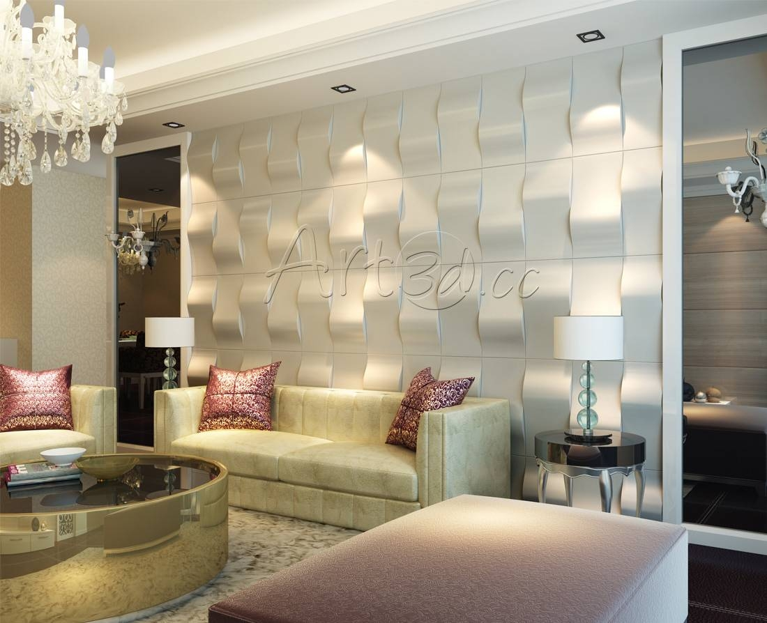 Living Room Wall Panels With Most Popular 3d Wall Art For Living Room (Gallery 13 of 20)