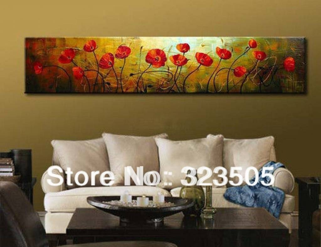 High Quality Long Canvas Wall Art Wall Art Designs Horizontal Wall Art Wall Art  Pertaining To Current Large