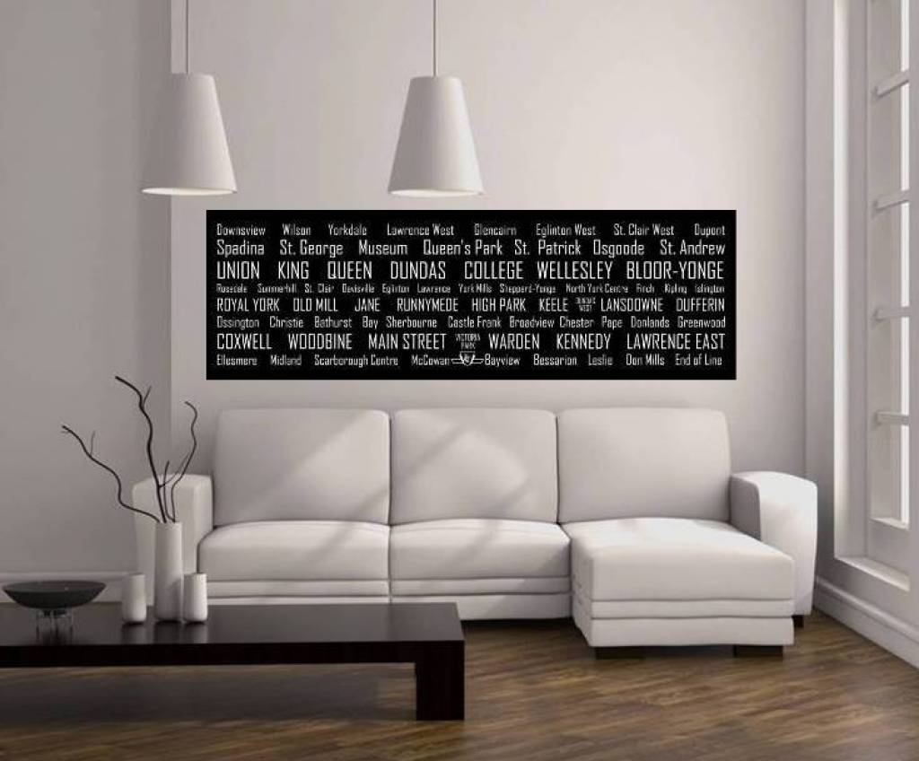 Long Canvas Wall Art Wall Art Designs Horizontal Wall Art Wall Art  Throughout Most Recently Released
