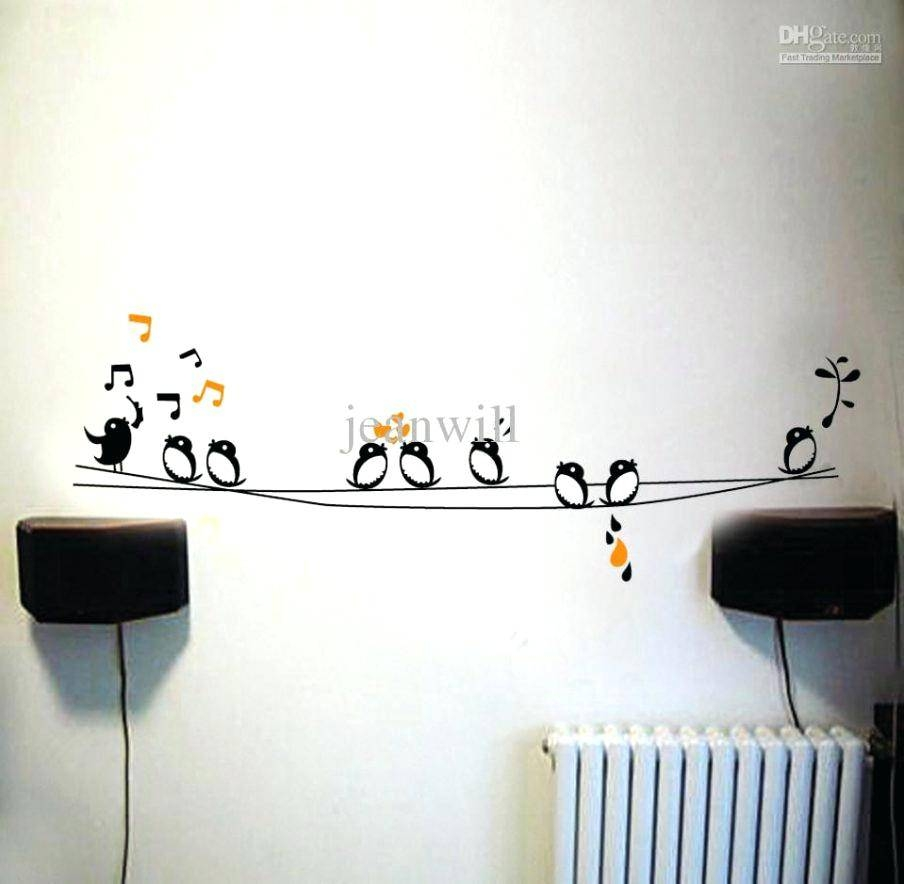Love Birds Wall Decal – Gutesleben With Regard To 2018 Ceramic Bird Wall Art (View 19 of 30)