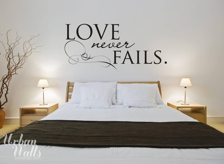 Love Wall Art Decals   Wallartideas For 2018 Love Wall Art (View 15 of 20)