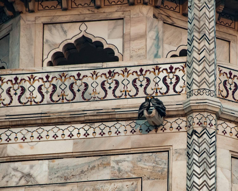 Lovebirds Taj Mahal Fine Art Wall Art Inquire About For Newest Taj Mahal Wall Art (View 10 of 25)