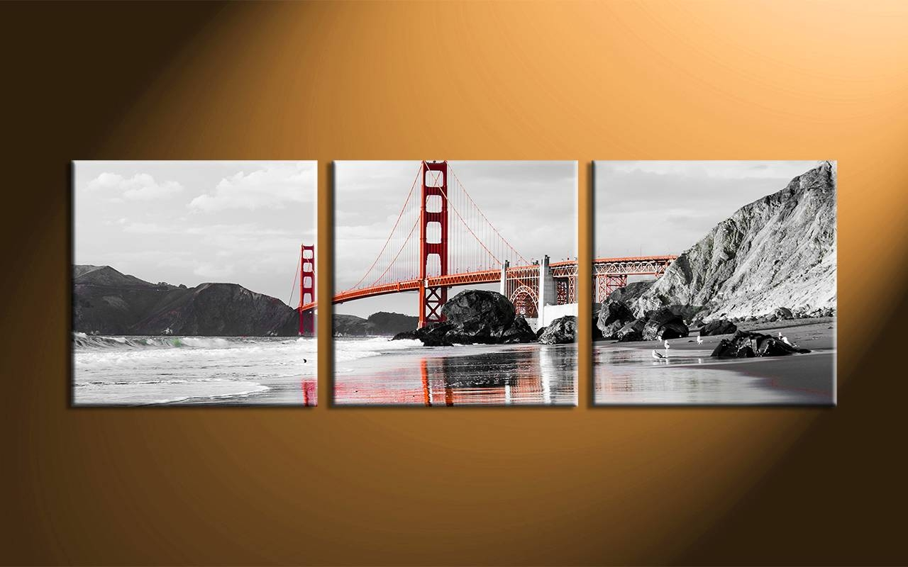 Lovely Decoration 3 Piece Canvas Wall Art Strikingly Design Ideas Pertaining To Recent 3 Piece Wall Art (View 22 of 30)