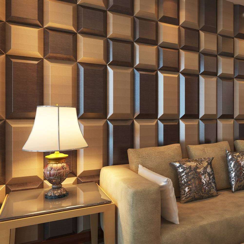 Featured Photo of 3d Wall Covering Panels