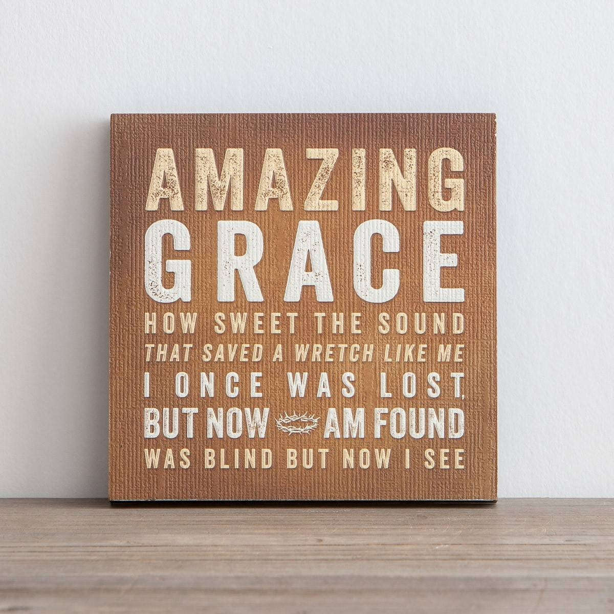 Lyrics For Life – Amazing Grace – Wall Art | Dayspring With Regard To Newest Grace Wall Art (View 3 of 25)
