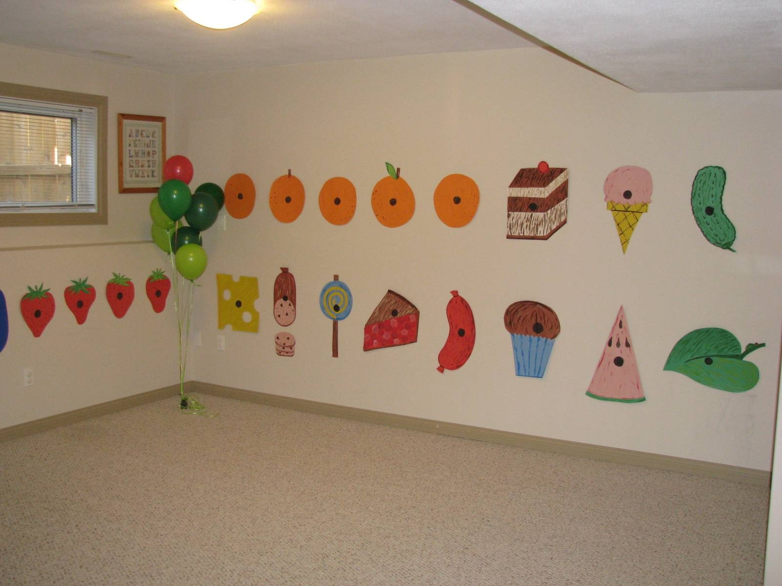 Making Merry Memories: The Very Hungry Caterpillar Party Intended For Current Very Hungry Caterpillar Wall Art (View 10 of 20)