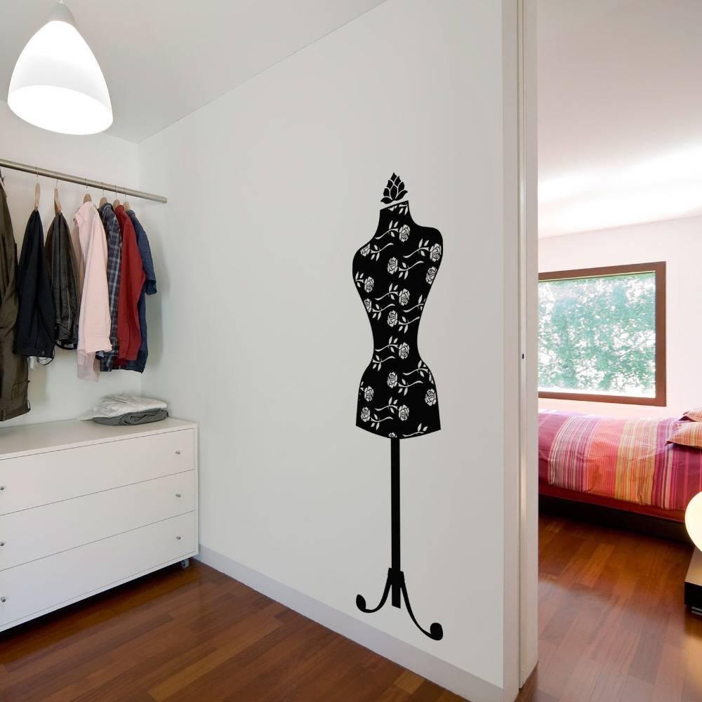 Mannequin Vinyl Wall Art Decal Sticker Classic In Wall Stickers Within 2017 Mannequin Wall Art (View 14 of 20)