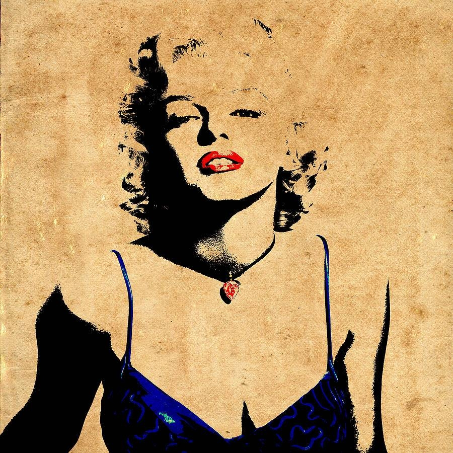 Marilyn Monroe Red Lips Photographs | Fine Art America With Current Marilyn Monroe Black And White Wall Art (View 13 of 15)