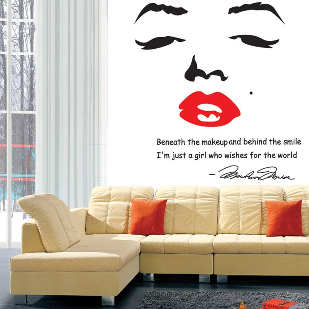 Marilyn Monroe Room Decorations Picture : Marilyn Monroe Room Throughout Recent Marilyn Monroe Wall Art (View 11 of 25)