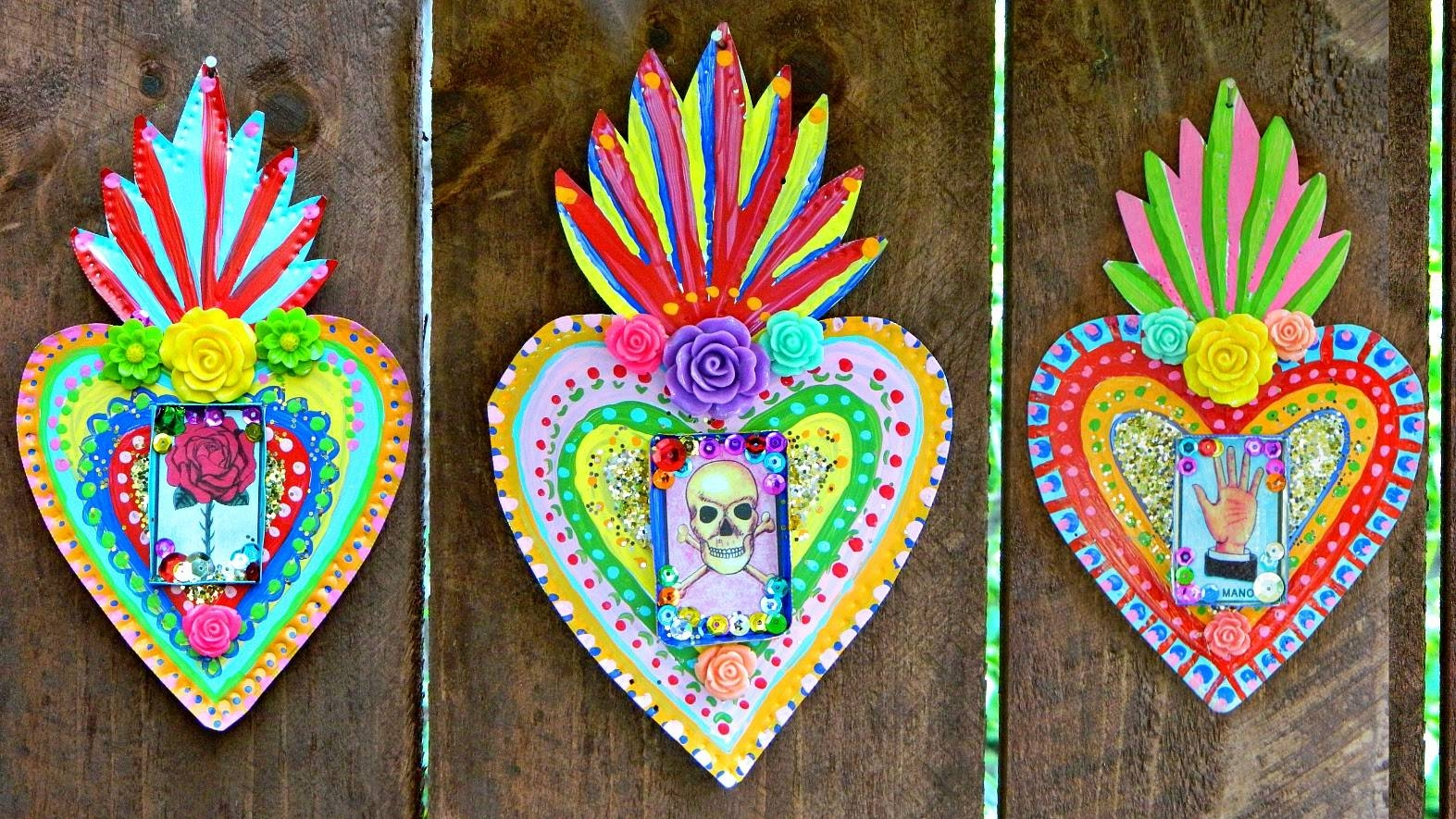 Mark Montano: Mexican Tin Folk Art Diy Pertaining To Most Recent Mexican Metal Art (Gallery 2 of 30)