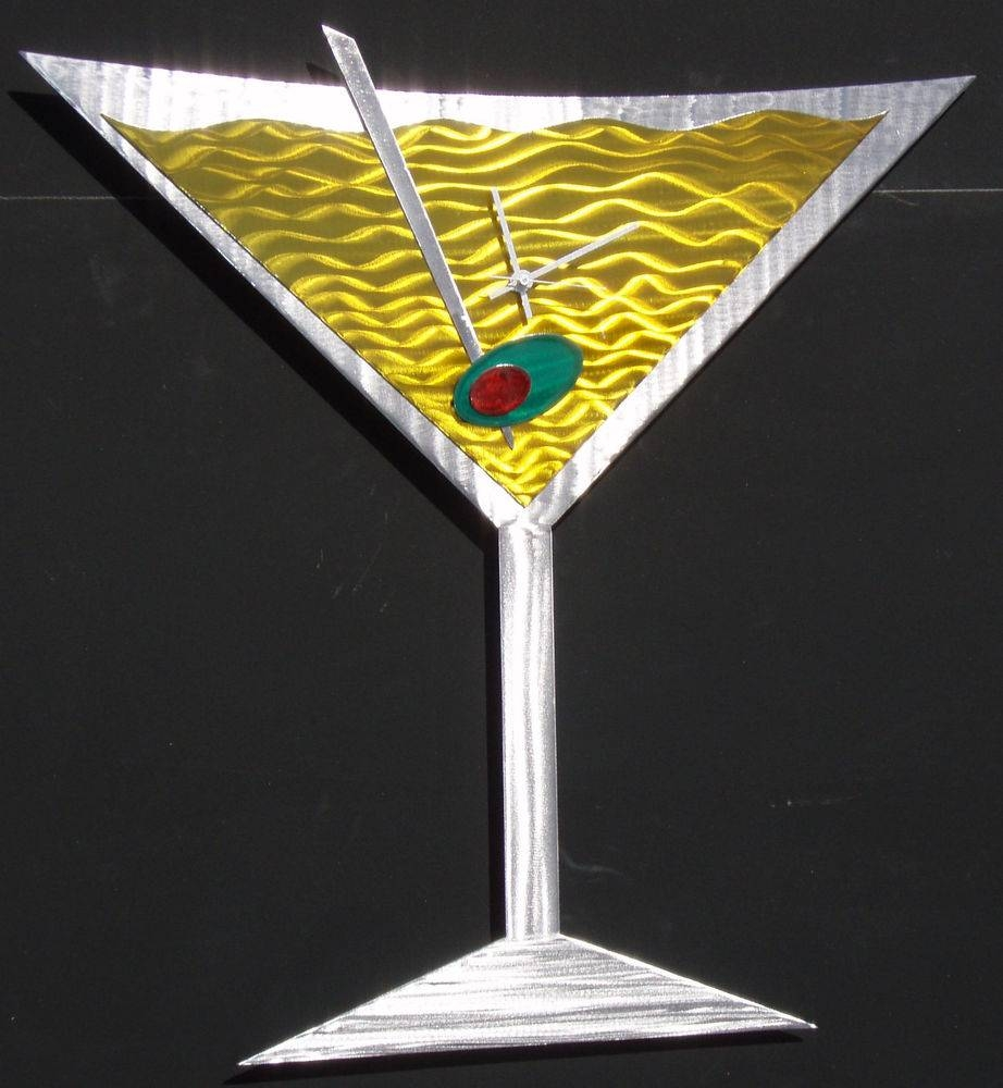 Martini Metal Wall Art For Latest Martini Metal Wall Art (View 18 of 30)