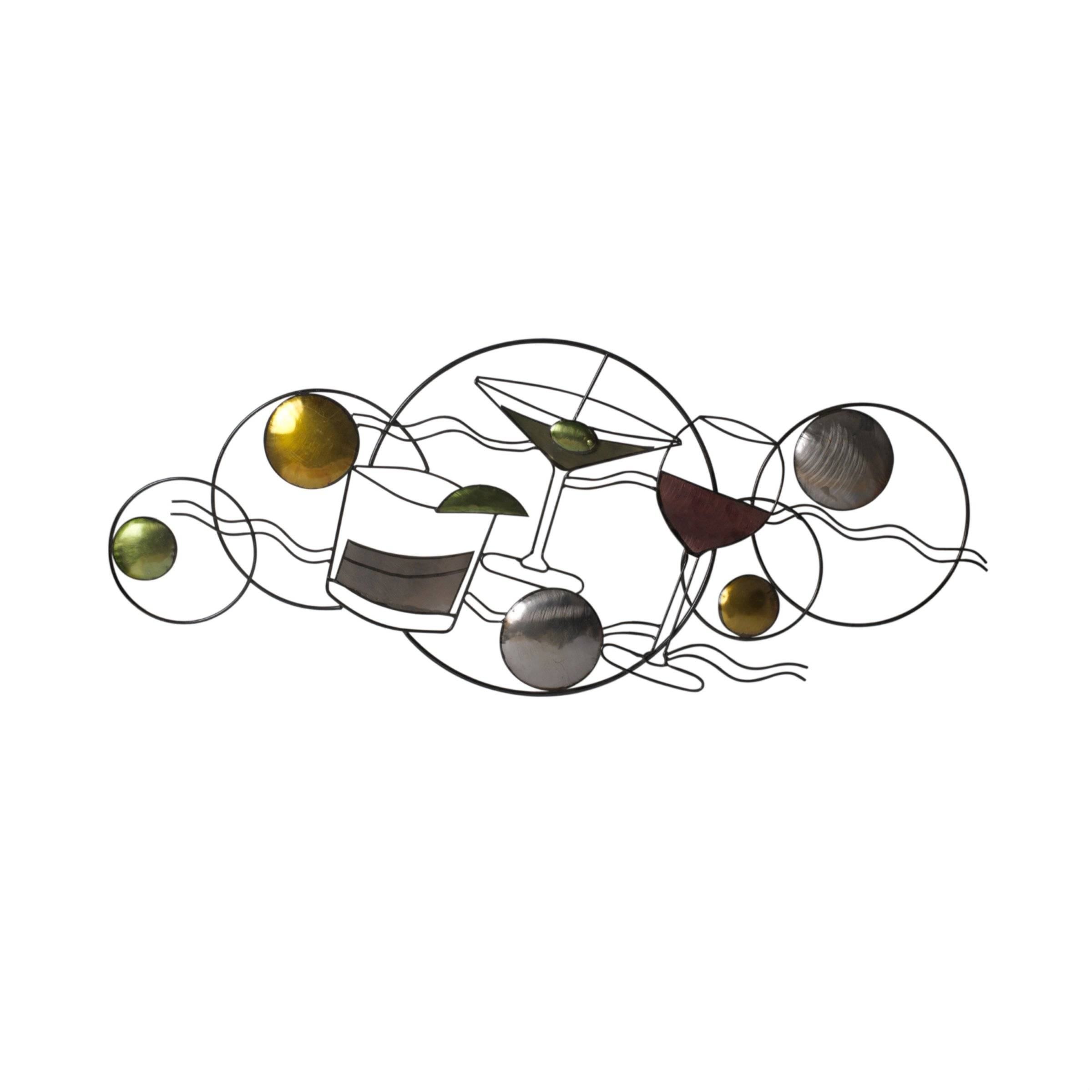 Martini Metal Wall Art With Most Recently Released Martini Metal Wall Art (View 21 of 30)