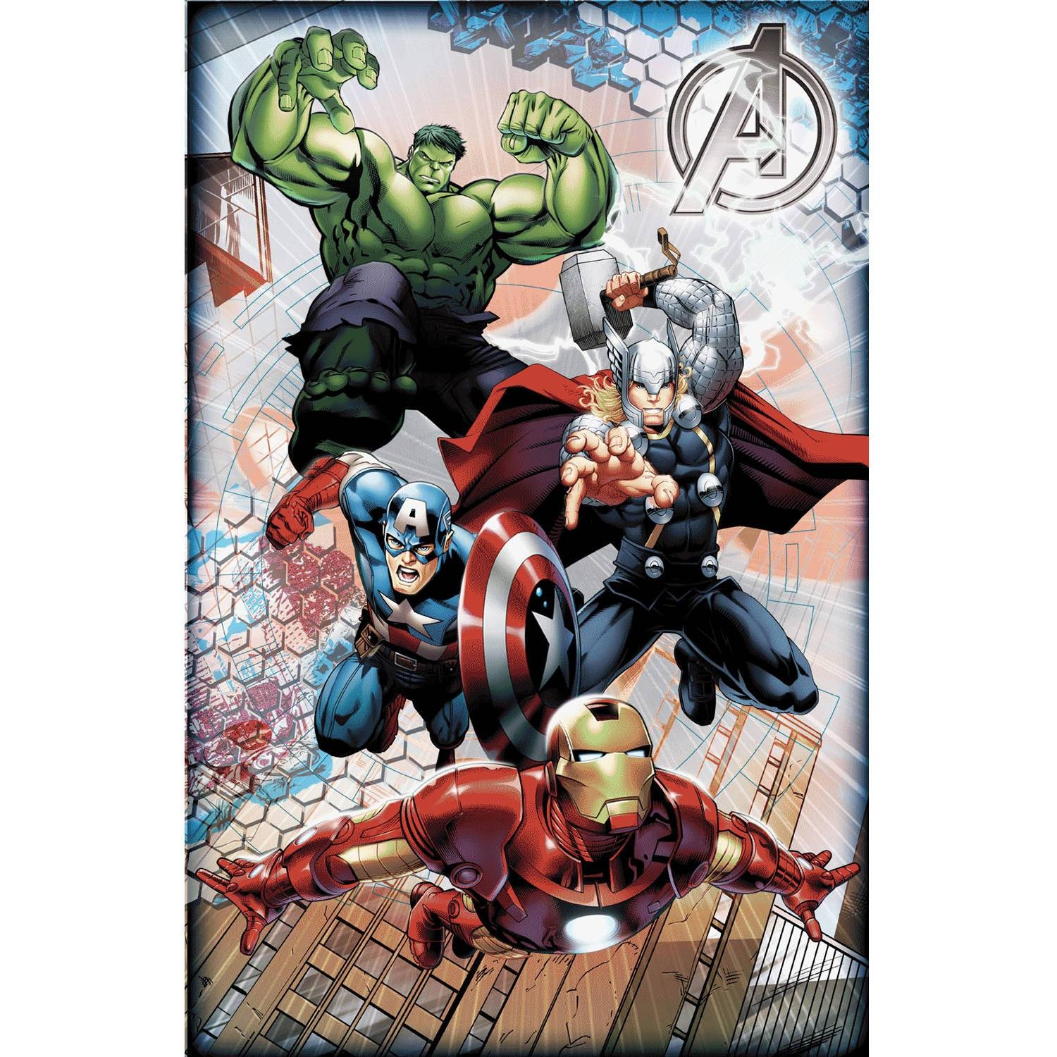 "Marvel Licensed Avengers2 11""x17"" 3D Framed Wall Art – Walmart Throughout Recent 3D Wall Art Walmart (View 5 of 20)"