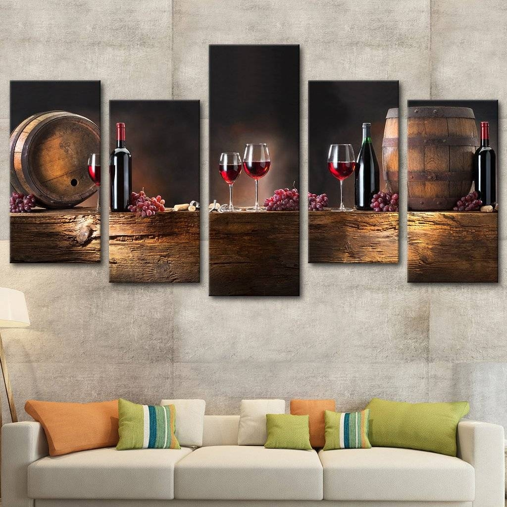 Marvelous Decoration Multi Panel Canvas Wall Art Winsome Design For Most Recent Multi Panel Canvas Wall Art (View 2 of 20)