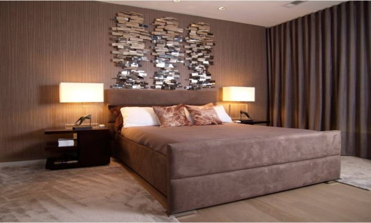 Master Bedroom Wall Art Ideas (Photos And Video With Latest Bed Wall Art (View 18 of 25)