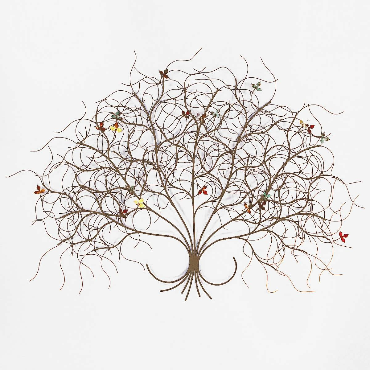 May Metal Tree Wall Art Sculpture Decor – Bronze – Gurtan Throughout Best And Newest Bronze Tree Wall Art (View 11 of 25)