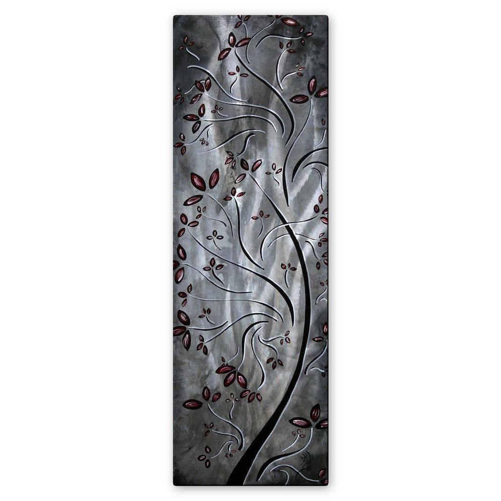 Megan Duncanson Metallic Blossom Contemporary Floral Metal Wall Regarding Most Recently Released Megan Duncanson Metal Wall Art (View 9 of 25)