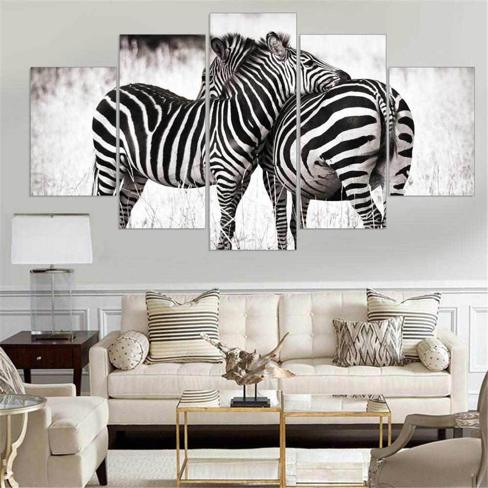 Mesmerizing 50+ Zebra Wall Art Decorating Inspiration Of 53 Zebra With Recent Zebra Wall Art Canvas (View 11 of 25)