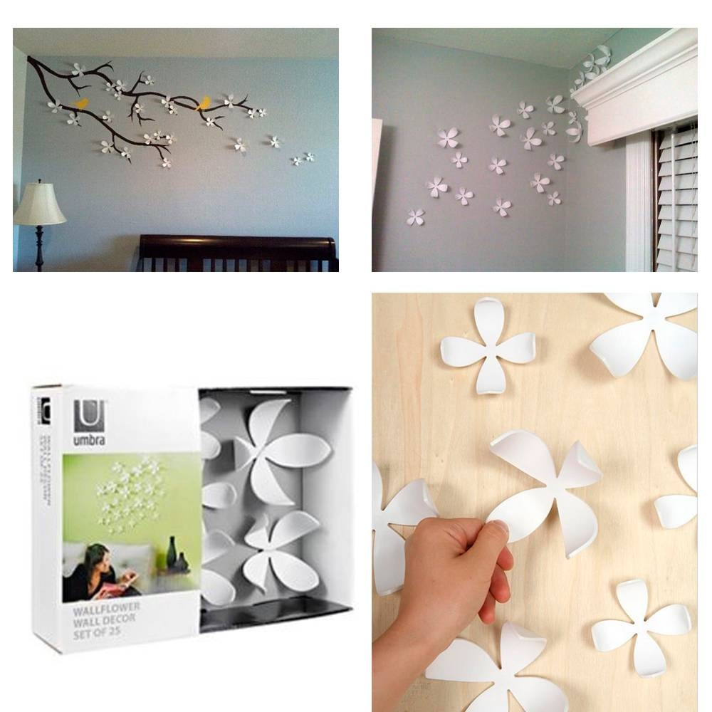 Mesmerizing 70+ Umbra Wall Decor Design Decoration Of Best 25+ For Latest Umbra 3D Flower Wall Art (View 15 of 20)
