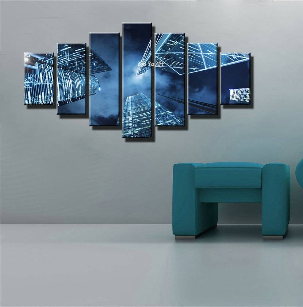 Mesmerizing Large Canvas Wall Art For Your Home Decorations Throughout Most Up To Date Blue Wall Art (View 7 of 20)