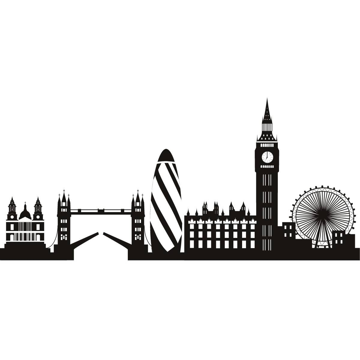 Mesmerizing London Wall Art Ebay Removable Vinyl Wall Stickers For Most Up To Date London Scene Wall Art (View 14 of 20)