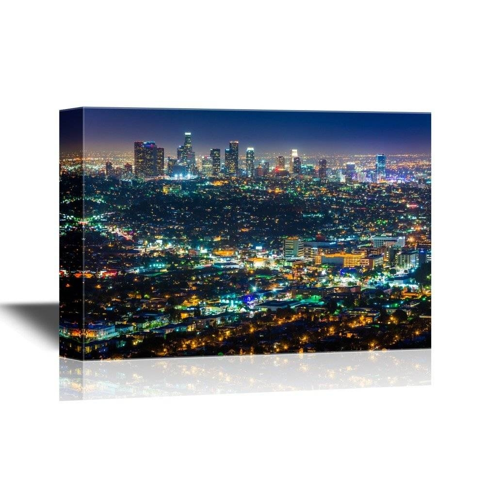 Mesmerizing Los Angeles Dodgers Wall Art This Beautiful Work Of in Most Current Los Angeles Wall Art
