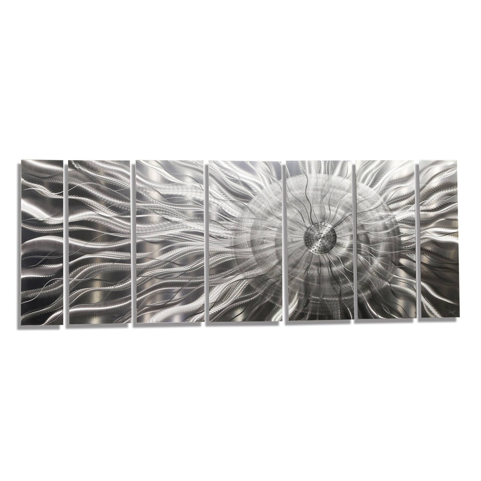 Mesmerizing Metal Sculpture Wall Art Photon Xl Extra Large Metal Intended For Newest Artisan Metal Wall Art (View 19 of 25)