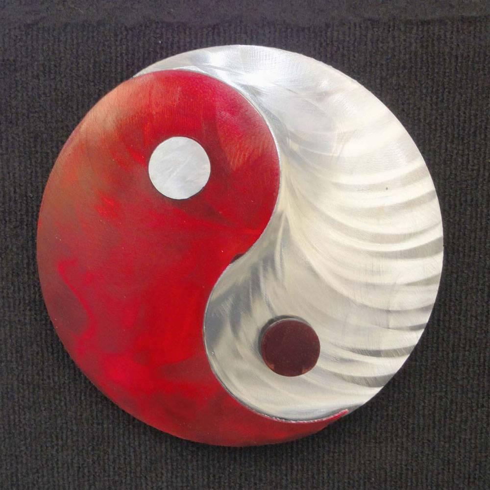 Metal Art Gift: Yin Yang – Transmutation Of Energieskristen In Latest Yin Yang Wall Art (View 11 of 30)