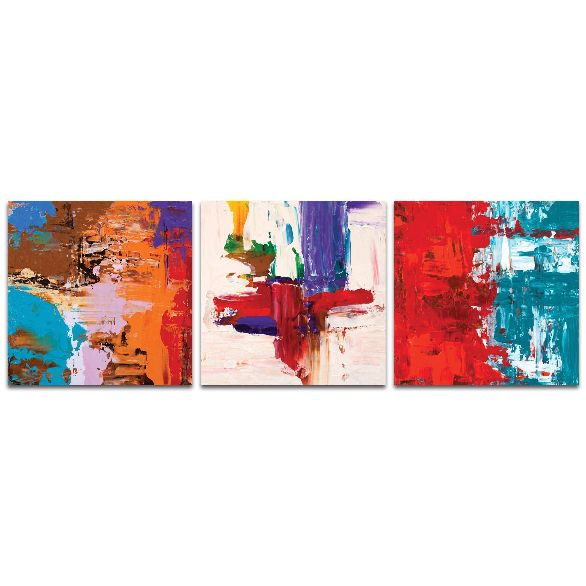 Metal Art Studio – Urban Triptych 5 Largeceleste Reiter For Most Recent Large Triptych Wall Art (View 13 of 20)