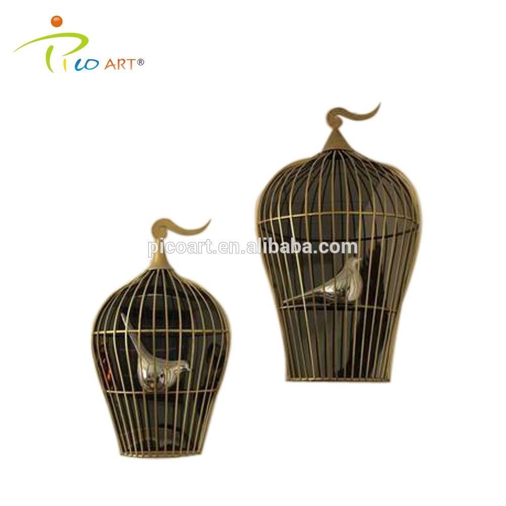 Metal Birdcage Wall Art, Metal Birdcage Wall Art Suppliers And With Most Popular Metal Birdcage Wall Art (View 9 of 15)