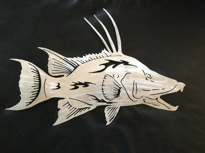Metal Fish Art (View 27 of 30)