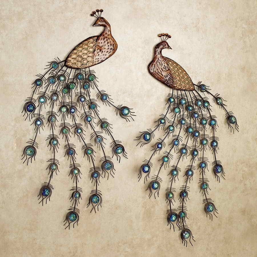 Metal Peacock Wall Pictures Of Peacock Wall Decor – Home Decor Ideas Within Newest Peacock Metal Wall Art (View 11 of 20)
