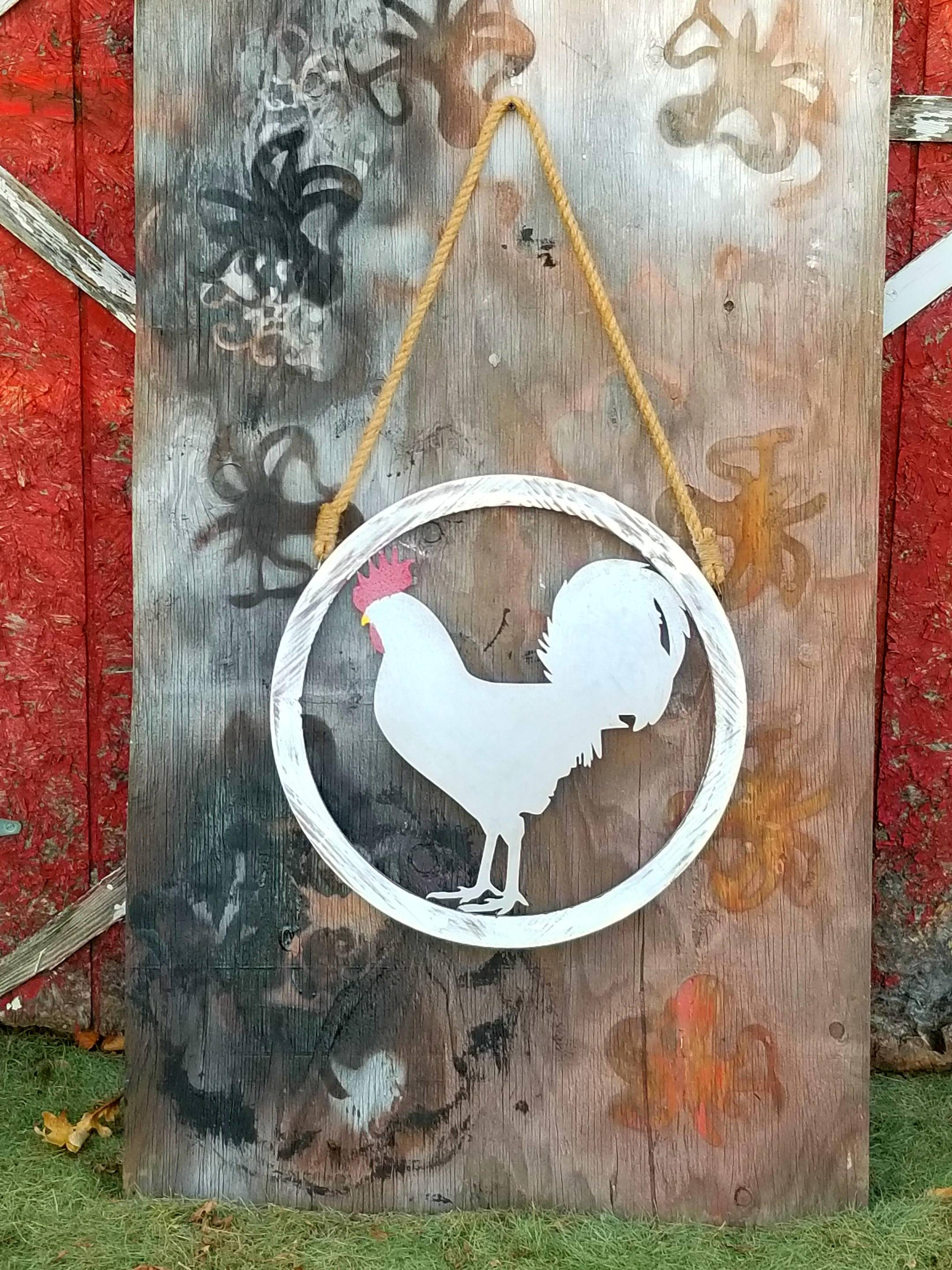 Metal Rooster Wall Art Metal Rooster Wall Decor Rooster With Regard To Newest Metal Rooster Wall Decor (View 12 of 25)