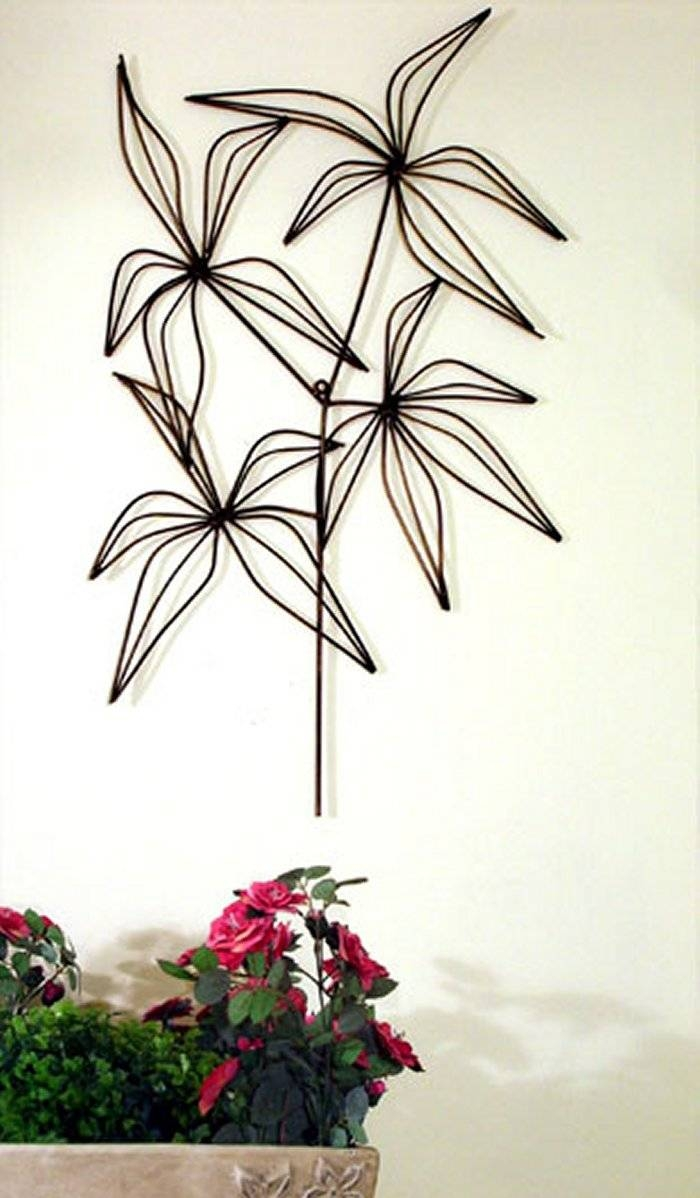 Metal Wall Art , Contemporary Artistic Metal Wall Sculptures Within Current Bamboo Metal Wall Art (View 15 of 25)