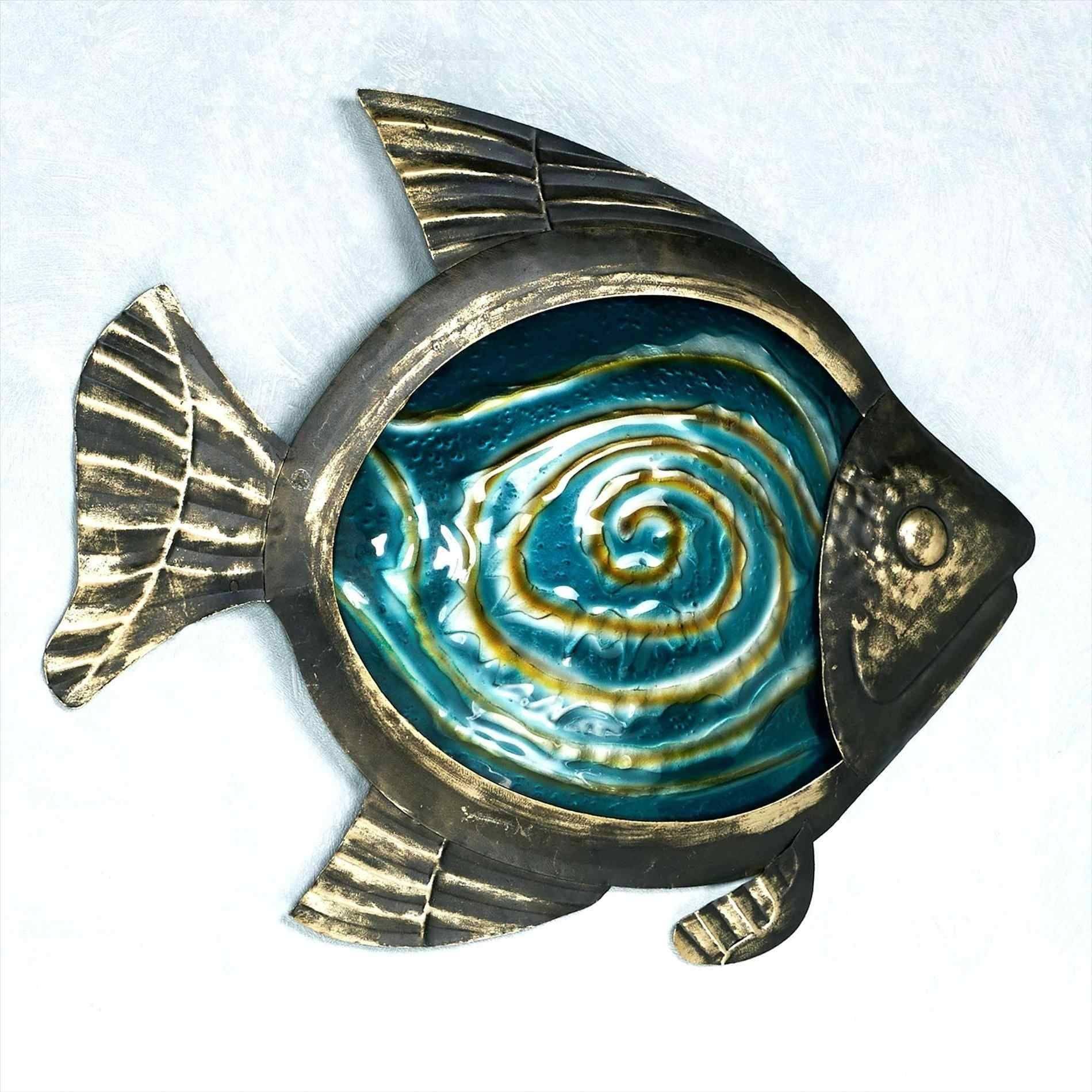 Metal Wall Art Fish Shoal | Home Interior Decor For Most Recently Released Shoal Of Fish Metal Wall Art (View 10 of 30)