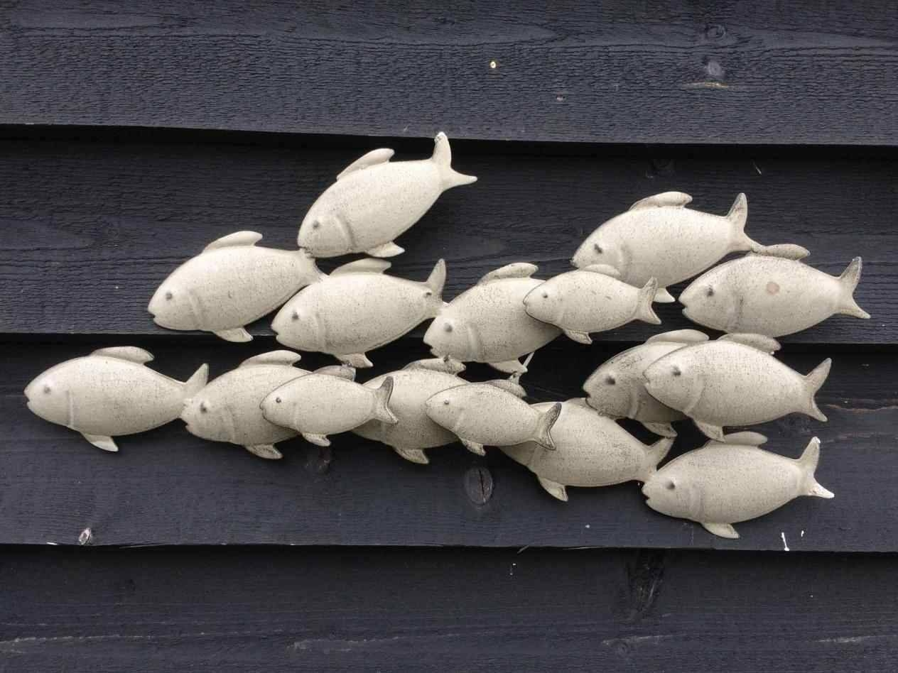 Metal Wall Art Fish Shoal   Home Interior Decor In Recent Shoal Of Fish Metal Wall Art (View 24 of 30)