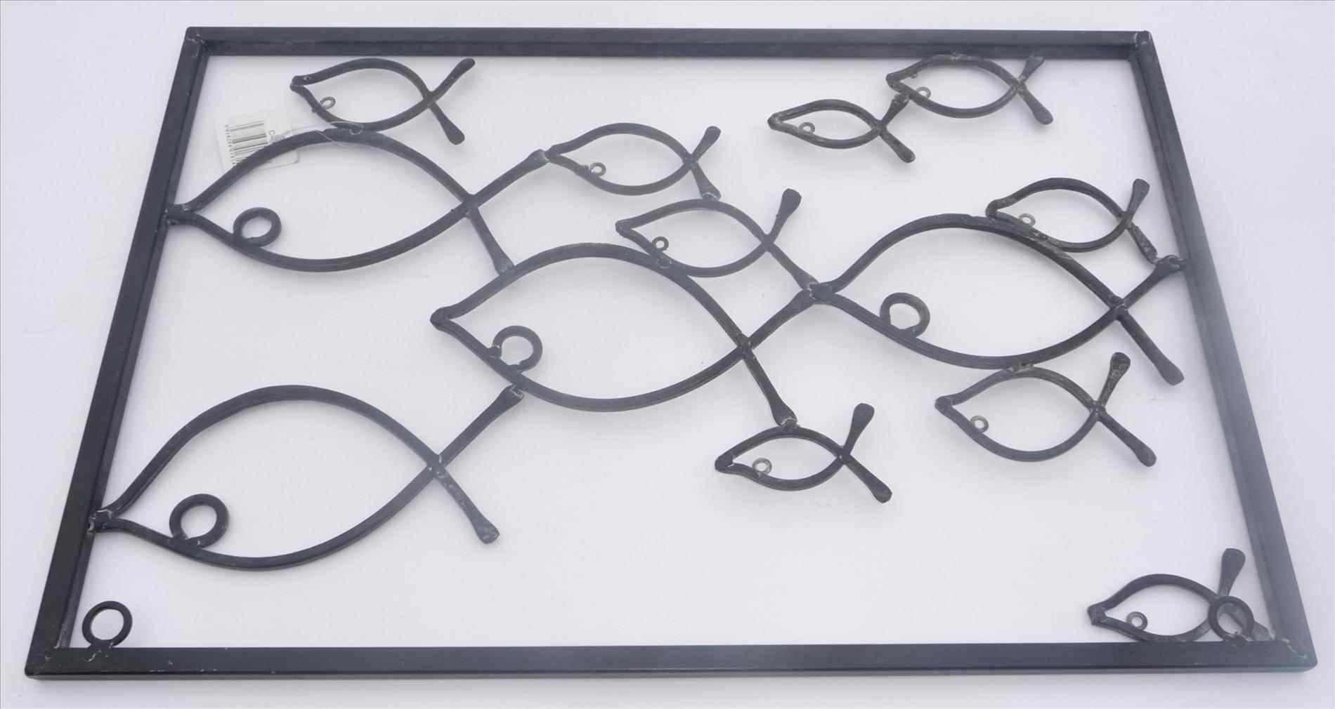 Metal Wall Art Fish Shoal | Home Interior Decor With Regard To 2018 Fish Shoal Metal Wall Art (Gallery 30 of 30)